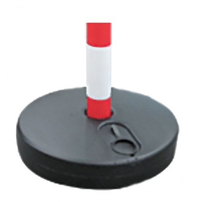 Base in plastica rotonda riempibile