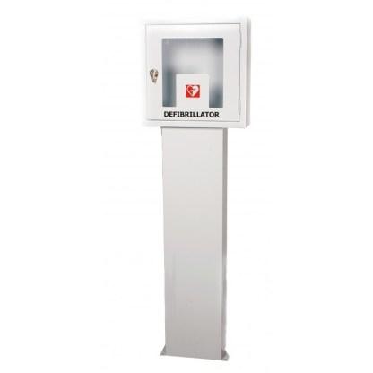 Piantana per armadietto/teca defibrillatore