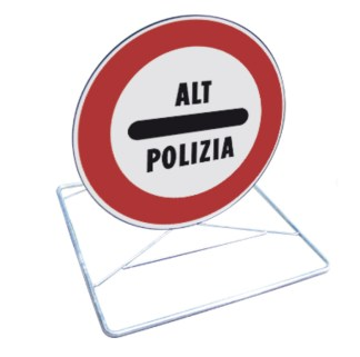 Kit cavalletto per pronto intervento ALT POLIZIA
