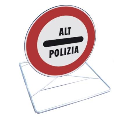 Kit cavalletto per pronto intervento ALT POLIZIA
