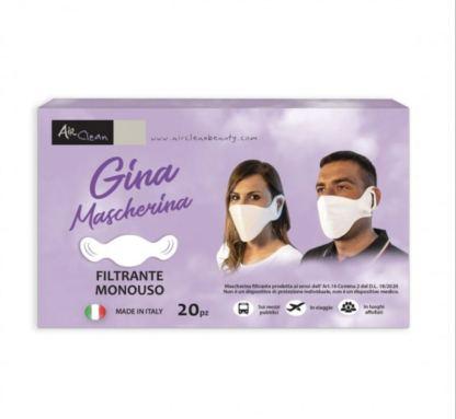 Mascherina monouso GINA 20 pz