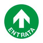 Adesivo da pavimento ENTRATA art. PPS330