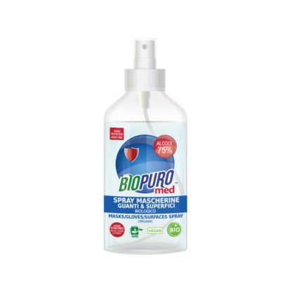 Spray igienizzante mascherine e superfici BIOPURO MED 250 ml