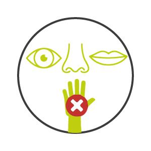 Protezione occhi e bocca