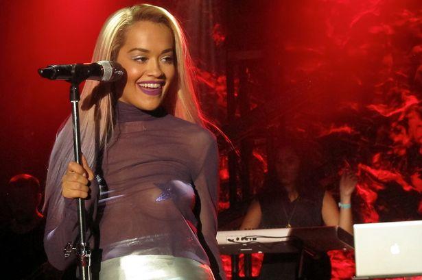 Rita Ora Los Angeles topless