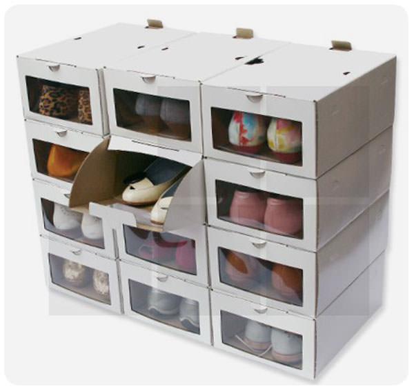 Cajas enorden la verdadera soluci n para guardar los for Muebles para acomodar zapatos