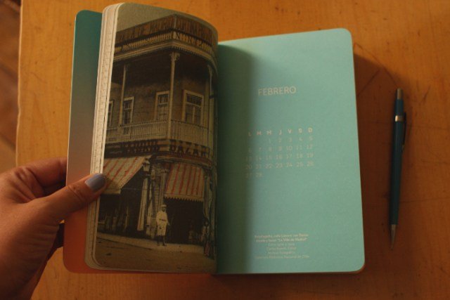 agenda 2017 de la Biblioteca Nacional