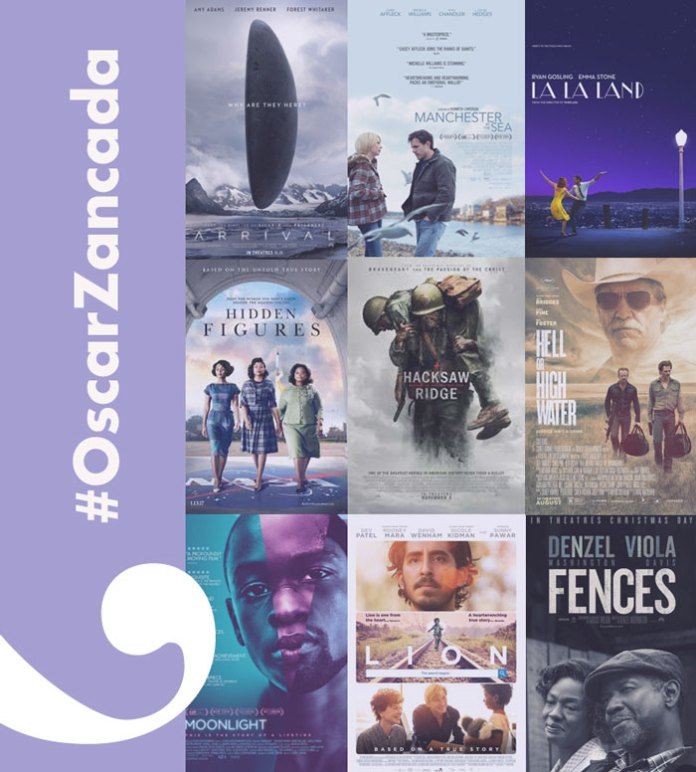 Comenta los premios Oscar 2017 con #OscarZancada