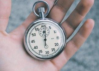 Necesito trabajar contra el tiempo