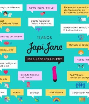 Japi Jane, 11 años haciendo feliz