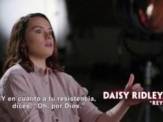 Daisy Ridley y Adam Driver