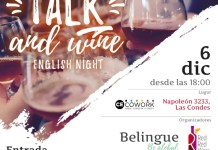 Talk and wine