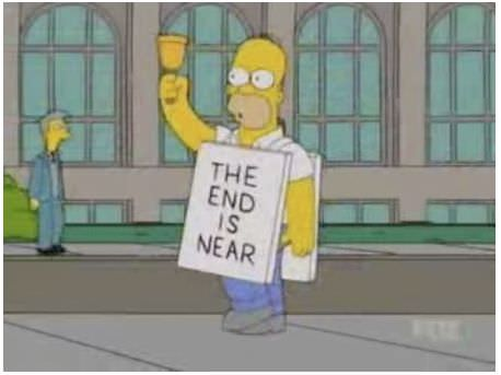 Homer fin del mundo the end is near