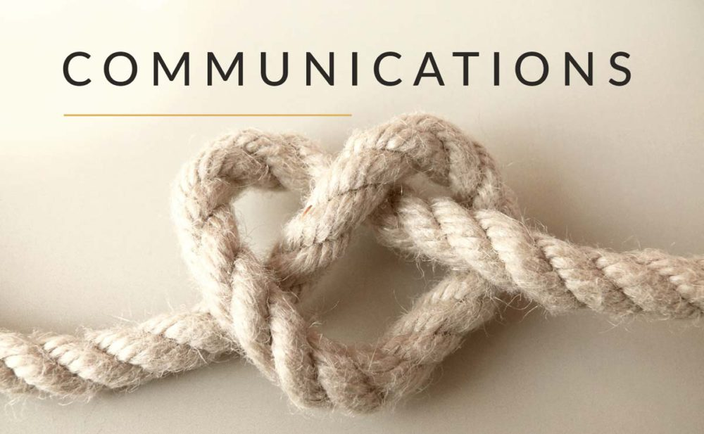 Communications static page