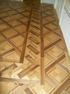 Riproduzione Pavimenti in legno Palazzo Binelli