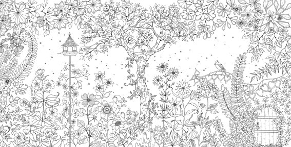 Secret Garden Joahanna Basford