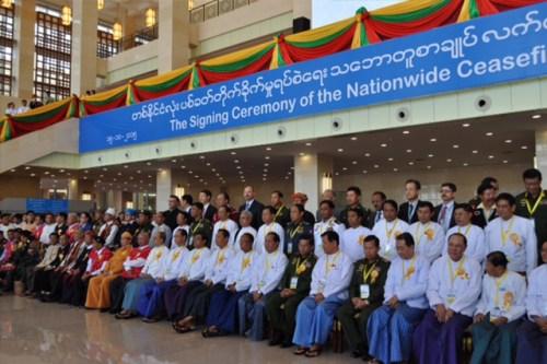 NCA cerimony