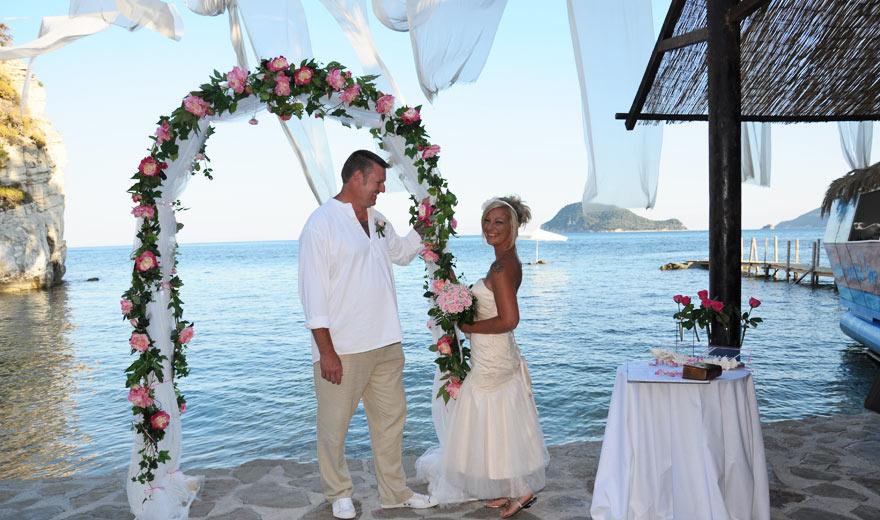 Beach Wedding Zakynthos