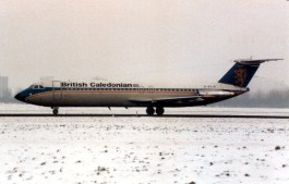 BAC 111-501EX British Caledonian G-AXJK