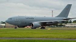 Airbus A310-304 10+25 German AF