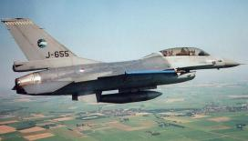 A Fokker built General Dynamics F-16B Fighting Falcon of the Royal Netherlands Air Force. Photo: Willem Vogelaar