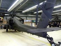 Closeup Royal Netherlands air force AH-64 Apache