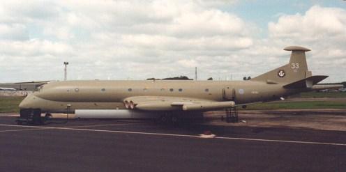 RAF Hawker Siddeley Nimrod MR.2 XV233