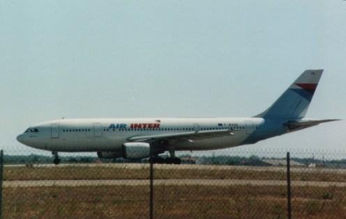 Air Inter, A300B2-1C, F-BVGD, c/n.010