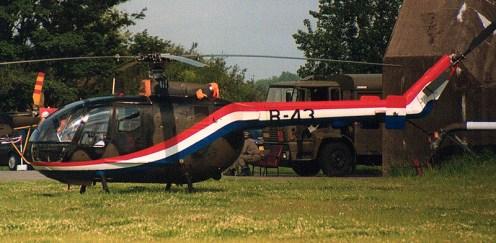 Bo-105CB-4 B-43 demo colours Royal Netherlands Air Force