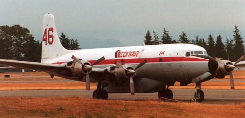 Canadian Fire Fighter, converted DC-6B