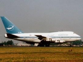 B747-2SP Syrian Air YK-AHB