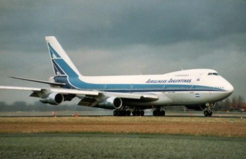Boeing 747-287B LV-OOZ Aerolineas Argentinas