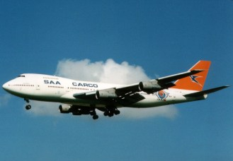 Boeing 747-244B(SF) ZS-SAR South African Airways Cargo