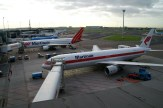 Old and new colours on this Martinair 767-300ER's