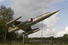 Netherlands Air Force F-104G Starfighter at Soesterberg air force museum