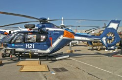 Eurocopter EC135 of the Gendarmerie (French Police)