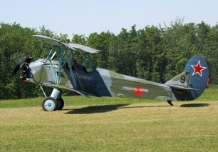 Polikarpov Po-2 F-AZDB/9 The PO-2 became famous as the aircraft flown by female soviet pilots in their daring nighttime raids against German forces.