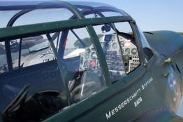 Messerschmitt Bf-108 Taifun cockpit (Messerschmitt Stiftung)