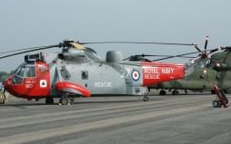 XV673/CU-827 Westland Sea King HU5 Royal Navy, Search & Rescue model.