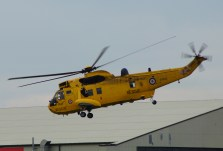 RAF Westland Sea King HAR3A ZH542 (cn WA1008) from 22 Squadron A flight based at RAF Valley in Wales.