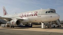 Airbus A319-133LR A7-CJA Qatar Airways