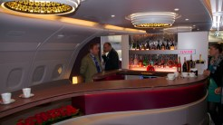 Interior A380 Qatar Airways Bar