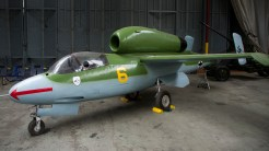 Heinkel He-162A-1 Volksjager at Imperial War Museum Duxford