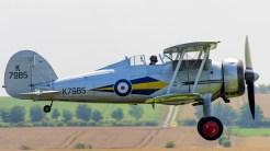 _IGP4887 Gloster Gladiator Mk1 G-AMRK Duxford