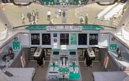 Sukhoi SSJ-100-95B-LR Superjet 100 RRJ-95B RA-89034 cockpit