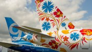 UTair SuperJet 100 flowertail