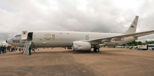 Boeing P-8A Poseidon 737-8FV 167955 / JA US Navy
