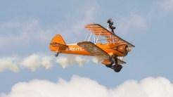 Stearman N2S-1 R985 Kaydet A75N1 Breitling wingdancers