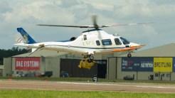 AgustaWestland AW-109E Power Elite ZE416 RAF