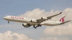 Airbus A340-642 Qatar A7-AGB